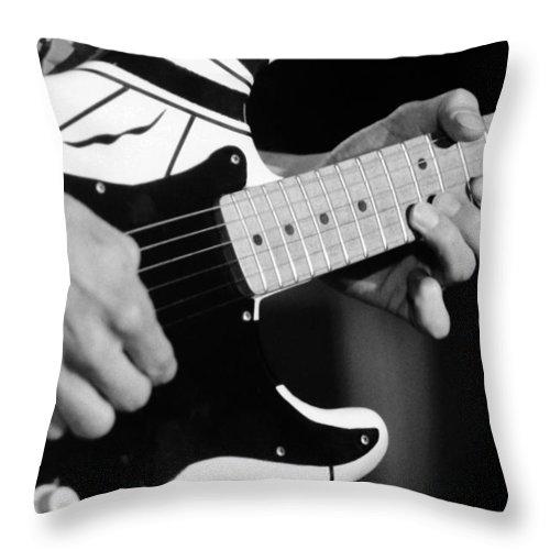 Van Halen Throw Pillow featuring the photograph Vh #4 by Ben Upham
