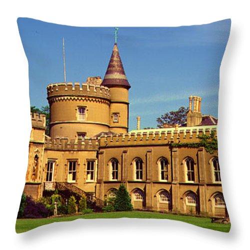 Walpole House Throw Pillow featuring the photograph Walpole House by John Topman