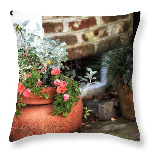 Warm Feelings Throw Pillow featuring the photograph Warm Feelings by John Rizzuto