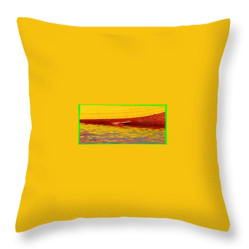 Water Throw Pillow featuring the photograph Water Reflection by Jes Fritze