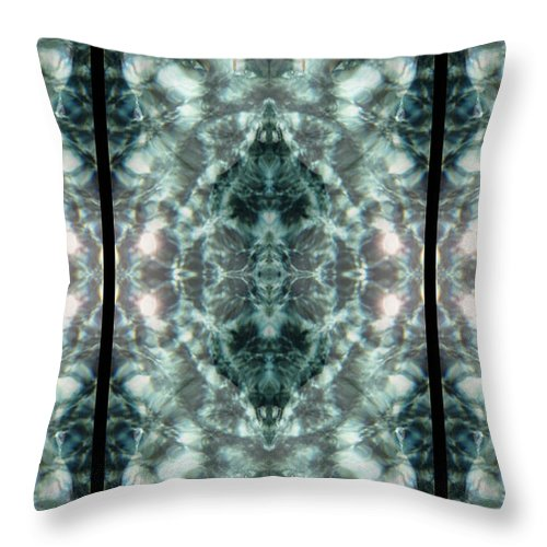 Water Throw Pillow featuring the photograph Waters Of Humility by Deprise Brescia