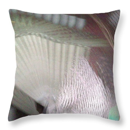 Waves2 Throw Pillow featuring the digital art Waves2 by D Preble