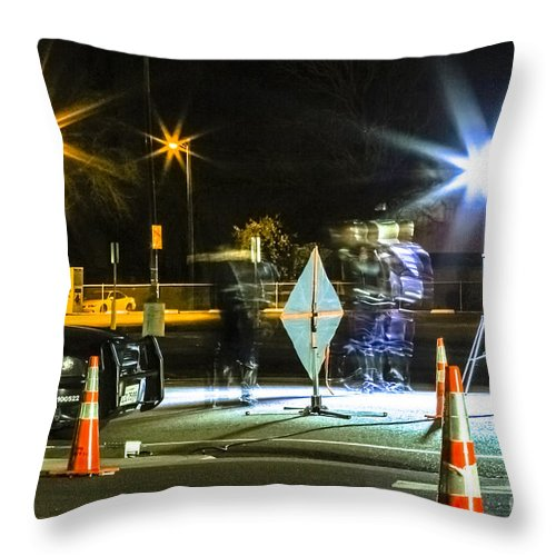Throw Pillow featuring the photograph Weekend Routine by Cj Avery