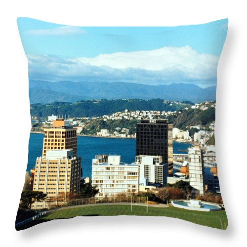 Wellington Throw Pillow featuring the photograph Wellington by Lydia Holly