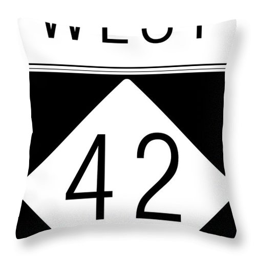 Feature Throw Pillow featuring the digital art West Nc 42 by Paulette B Wright