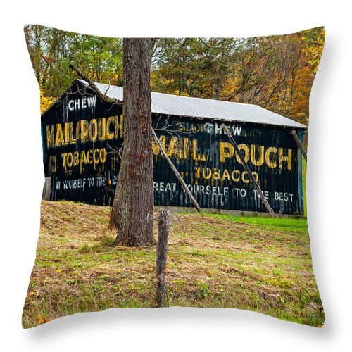 West Virginia Throw Pillow featuring the photograph West Virginia Classic by Steve Harrington