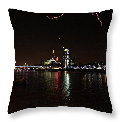 London Throw Pillow featuring the photograph Westminster - London by Doc Braham