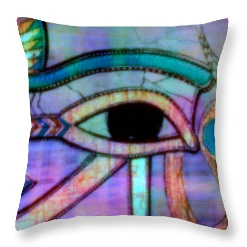 Dreams Throw Pillow featuring the mixed media What Dreams May Come by Wendie Busig-Kohn