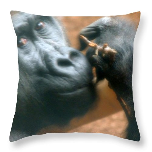 Whatever Throw Pillow featuring the photograph Whatever by Munir Alawi
