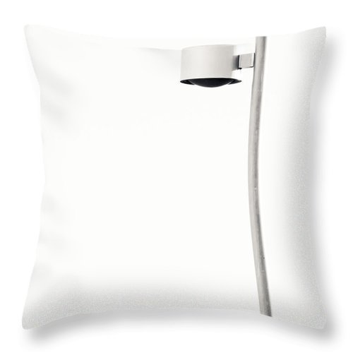 White Throw Pillow featuring the photograph White Light by Margi EvanSon