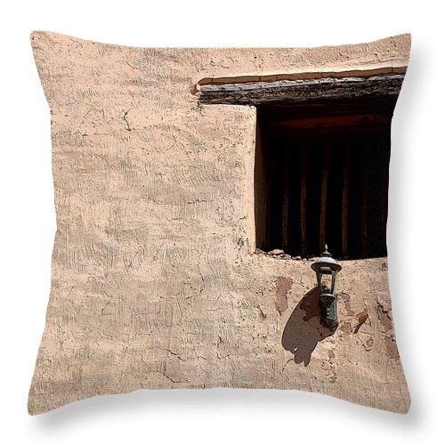 Window Throw Pillow featuring the photograph Window Of God by Joe Kozlowski