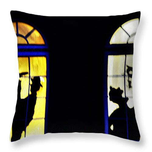 Windows Throw Pillow featuring the photograph Windows by Bill Cannon