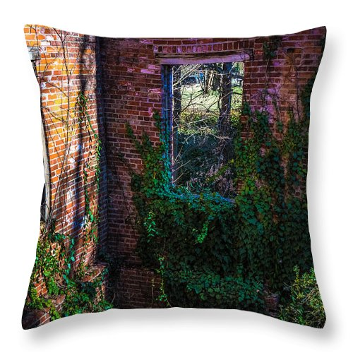 Windows Throw Pillow featuring the photograph Windows In Time by Robert Mullen