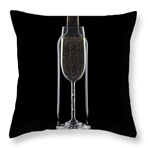 Wine Throw Pillow featuring the photograph Wine by Tom Mc Nemar