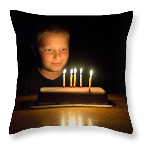 Bill Pevlor Throw Pillow featuring the photograph Wishful Thinking by Bill Pevlor