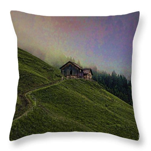 Farm Throw Pillow featuring the photograph Wonderland-2 by Casper Cammeraat