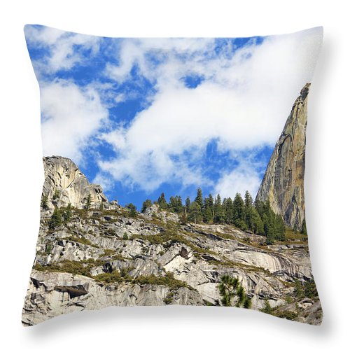 Yosemite National Park Throw Pillow featuring the photograph Yosemite Granite by Jack Schultz