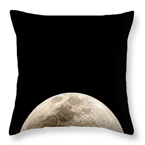 Moonrise Throw Pillow featuring the photograph You Are Missing The Moonrise Again You Fool Just The Photo by Weston Westmoreland