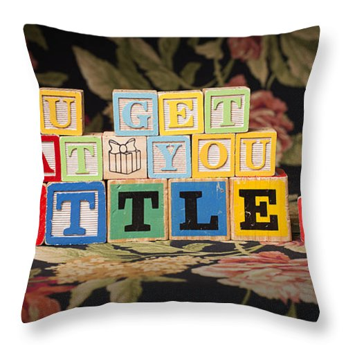 You Get What You Settle For Throw Pillow featuring the photograph You Get What You Settle For by Art Whitton