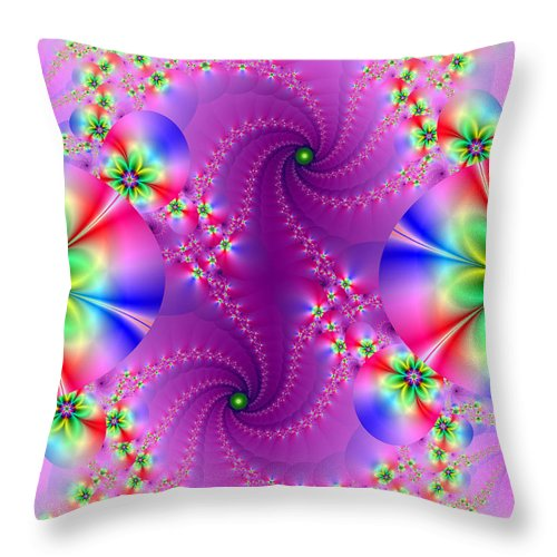 Digital Throw Pillow featuring the digital art Your Highness by Ester Rogers