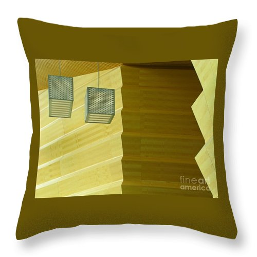 Zig-zag Throw Pillow featuring the photograph Zig-zag by Ann Horn
