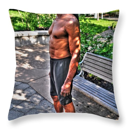 Throw Pillow featuring the photograph 02 This Is What Brata Brings by Michael Frank Jr
