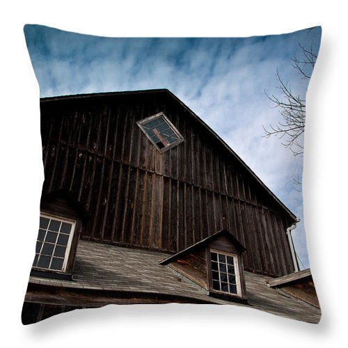 Barn Throw Pillow featuring the photograph Barn by Cale Best