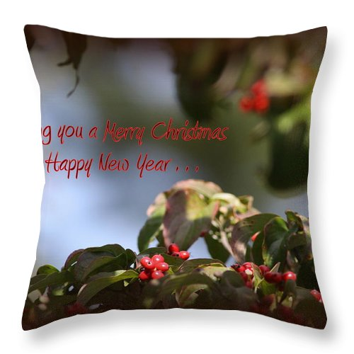 Christmas Card Throw Pillow featuring the photograph Christmas Card by Travis Truelove