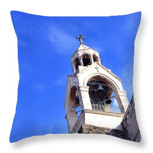 Church Of The Nativity Throw Pillow featuring the photograph Church Of The Nativity by Thomas R Fletcher