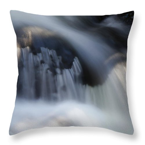 Falls Throw Pillow featuring the photograph Falls Detail by Jeff Galbraith