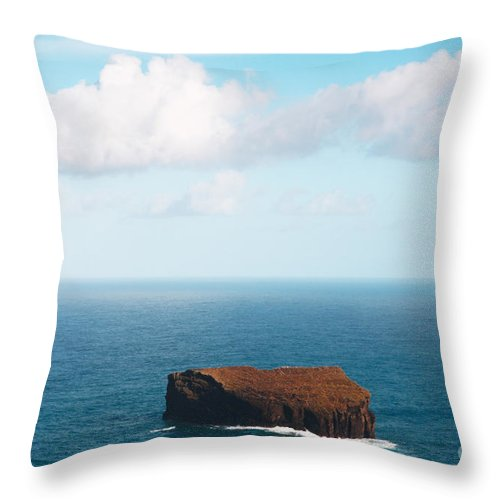 Island Throw Pillow featuring the photograph Islet by Gaspar Avila