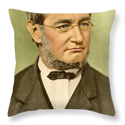 Julius Robert Von Mayer Throw Pillow For Sale By Photo Researchers