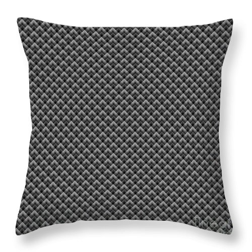 Kaleidoscope Throw Pillow featuring the digital art Kaleidoscope by Henrik Lehnerer