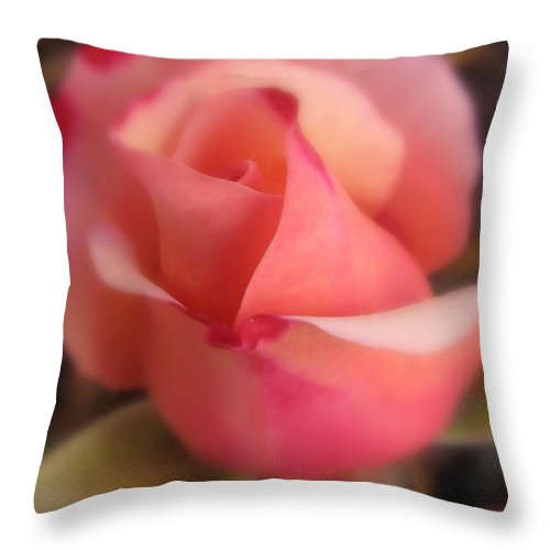 Flower Throw Pillow featuring the photograph Love by Tina Marie