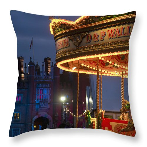 Bowman Throw Pillow featuring the photograph None by Charles Bowman