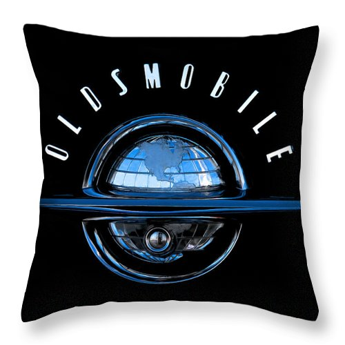 Automotive Throw Pillow featuring the digital art Old World by Douglas Pittman