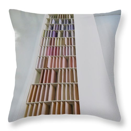 Paper Throw Pillow featuring the photograph Paper by Eena Bo