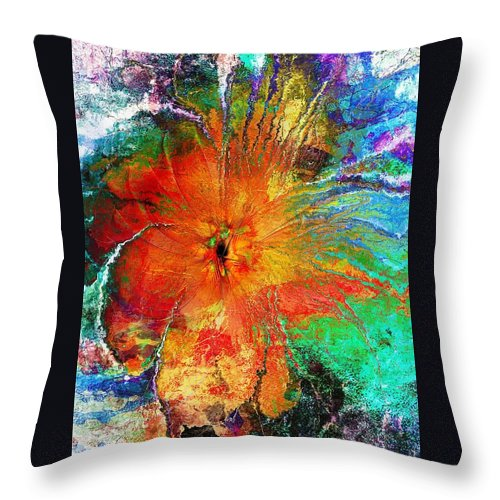 Digital Art Throw Pillow featuring the digital art Will You Love Me Tomorrow by Amanda Moore