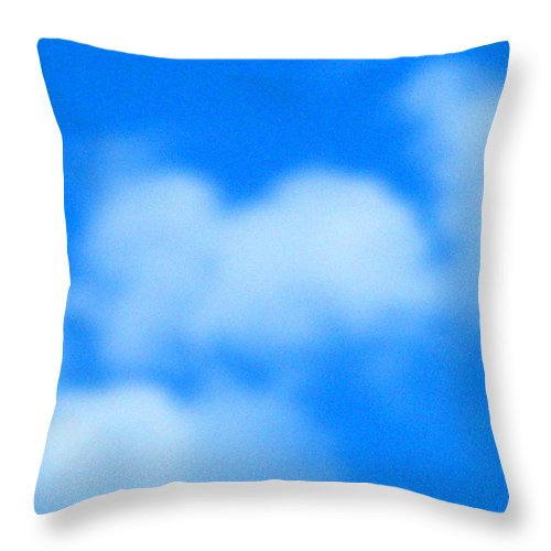 Cloud Throw Pillow featuring the photograph With Love by April Patterson