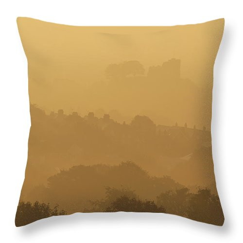 Throw Pillow featuring the photograph None by Ian Cumming