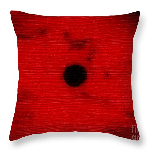 Abstract Throw Pillow featuring the digital art 1041 by M Rose