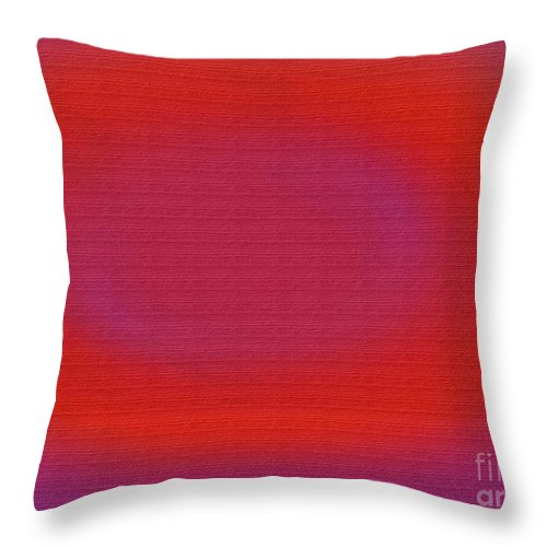 Abstract Throw Pillow featuring the digital art 1046 by M Rose