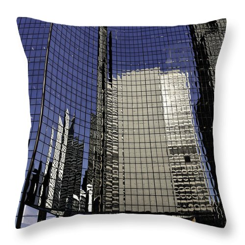 Chicago Throw Pillow featuring the photograph Chicago Architecture by Paul Plaine