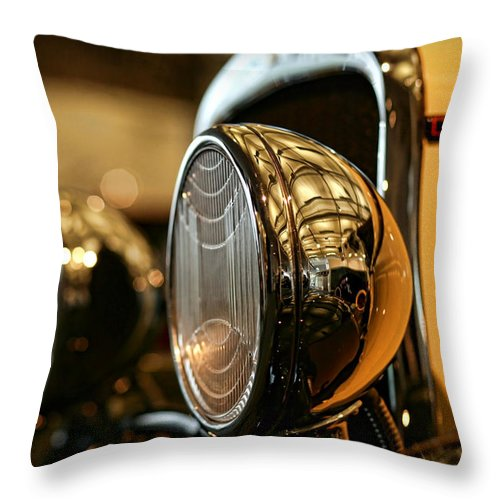 1929 Throw Pillow featuring the photograph 1929 Dodge Desoto Six Roadster by Gordon Dean II