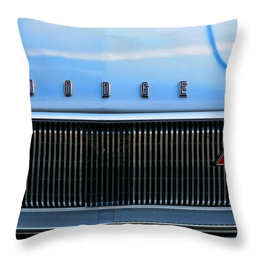 1966 Throw Pillow featuring the photograph 1966 Dodge Coronet Rt by Gordon Dean II