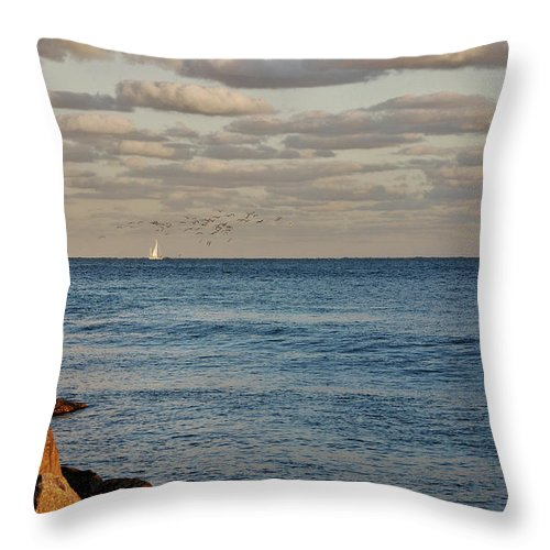 Serenity Throw Pillow featuring the photograph 20- Serenity by Joseph Keane