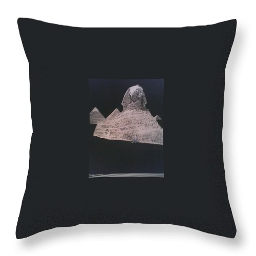 Abstract Throw Pillow featuring the mixed media Untitled by Jerry Conner