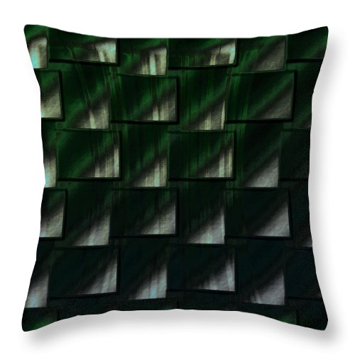 Digital Graphic Throw Pillow featuring the digital art Accessories by Mihaela Stancu