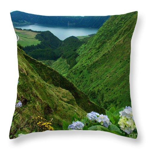 Azores Throw Pillow featuring the photograph Sete Cidades - Azores by Gaspar Avila