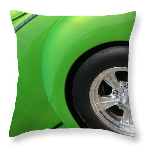 1940 Throw Pillow featuring the photograph 40 Ford-driver Rear Wheel-8581 by Gary Gingrich Galleries